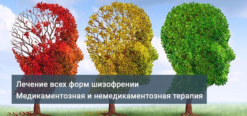 лечение всех форм шизофрении